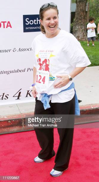 Brandi Chastain during First Annual Kids 4 Kids 5k Run/Walk April 30 2006 at Constellation Blvd and Avenue of the Stars in Century City California...