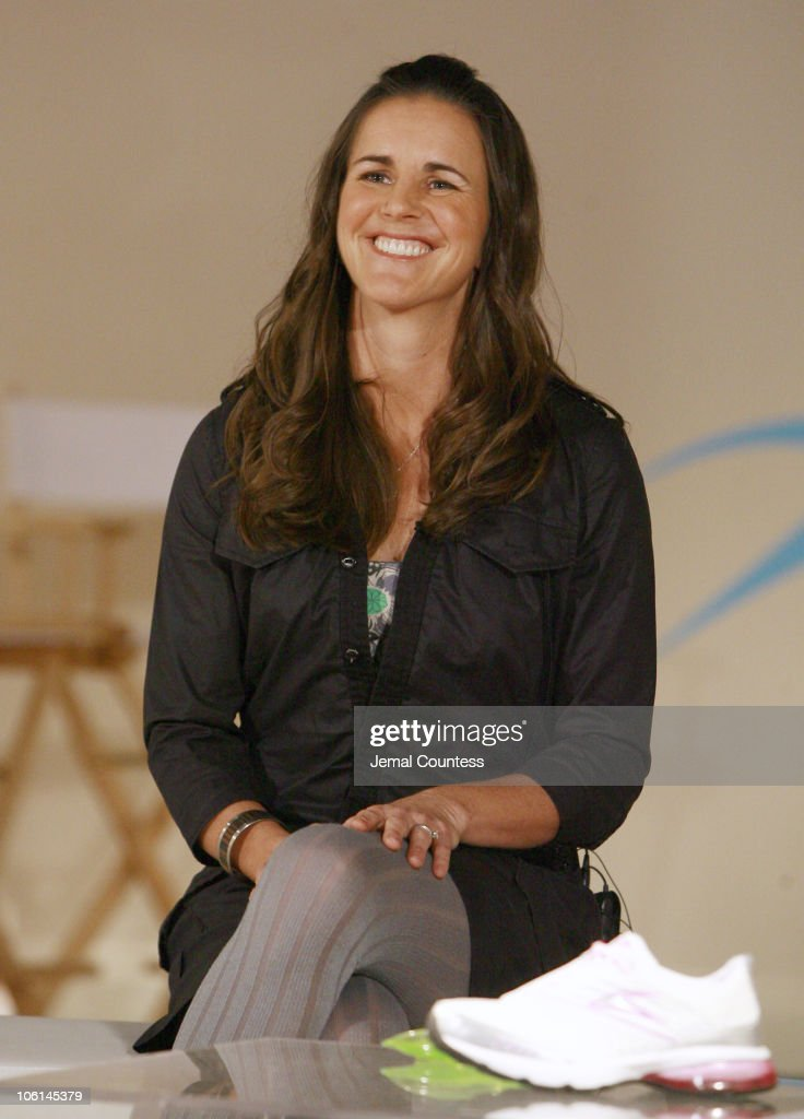Brandi Chastain during Press Conference to Announce the Launch of Nike Tailwind Product Line at Lotus Space in New York City, New York, United States.
