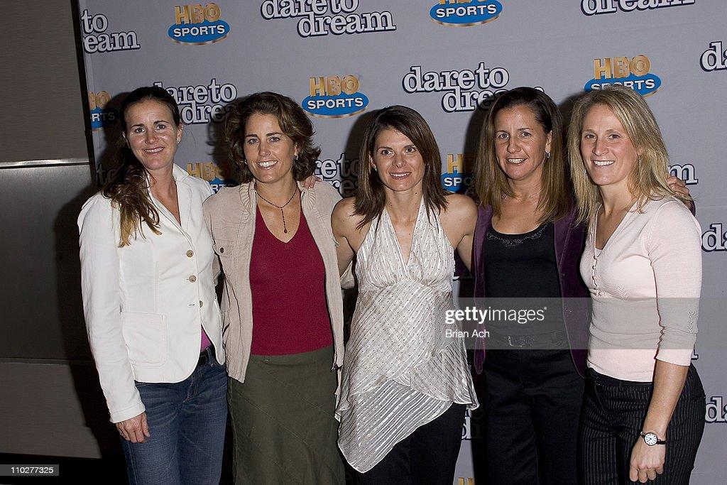 """Dare to Dream:  The Story of the U.S. Women's Soccer Team"" New York City"
