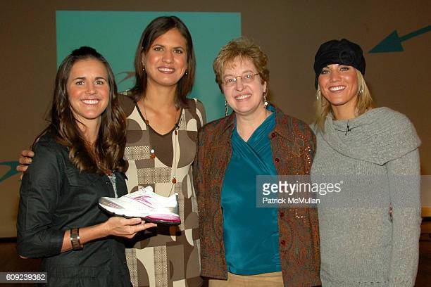 Brandi Chastain Logan Tom Linda Zapulla and Hope Solo attend TAILWIND Product Showcase Featuring Brandi Chastain at Lotus Space on February 26 2007...