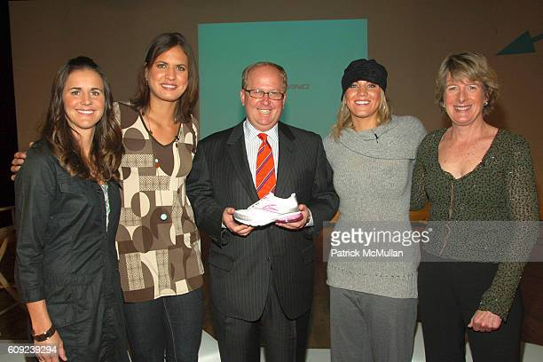Brandi Chastain Logan Tom Matthew Rubell Hope Solo and Clare Hamill attend TAILWIND Product Showcase Featuring Brandi Chastain at Lotus Space on...