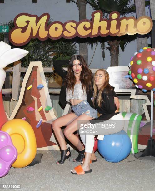 Brandi Cyrus attends the Moschino Candy Crush Desert Party hosted by Jeremy Scott on April 15 2017 in Coachella California