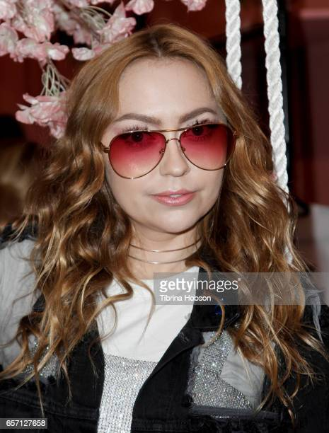 Brandi Cyrus attends the Sonix And Friends PopUp Shop on Melrose Avenue on March 23 2017 in Los Angeles California