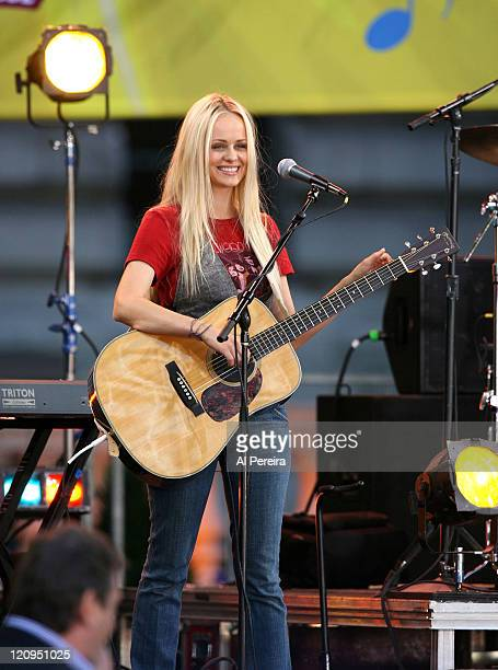Brandi Cyrus during 2007 'Good Morning America' Summer Concert Series Featuring Miley Cyrus as 'Hannah Montana' at Bryant Park in New York City New...