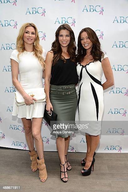Brandi Glanville Adrienne Janic and Carlton Gebbia attend The Associates for Breast and Prostate Cancer Studies annual mother's day luncheon at Four...