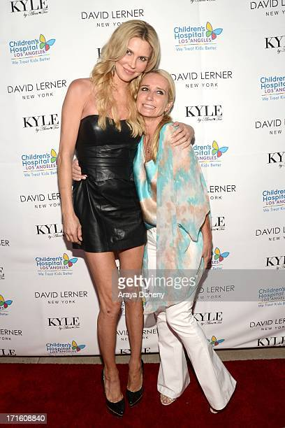 Brandi Glanville and Kim Richards attend a fashion fundraiser benefitting Children's Hospital of Los Angeles hosted by Kyle Richards at Kyle by Alene...