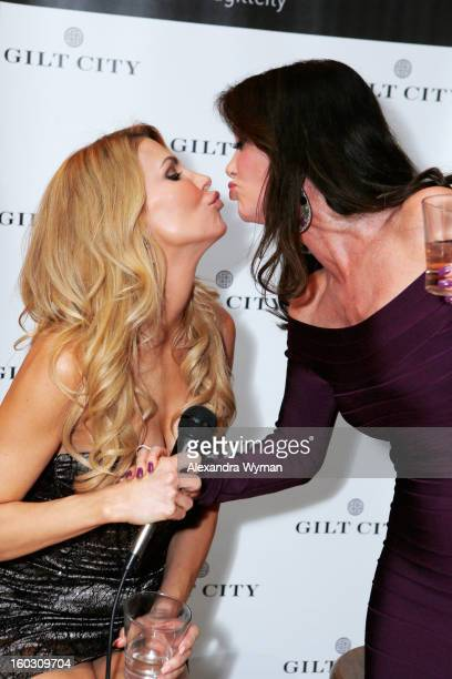 Brandi Glanville and Lisa Vanderpump attend Gilt City Los Angeles celebrates The Real Housewives of Beverly Hills star Brandi Glanville and her...