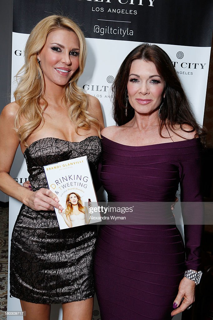 "Gilt City LA Celebrates ""The Real Housewives of Beverly Hills"" Star Brandi Glanville's ""Drinking & Tweeting And Other Brandi Blunders"" : News Photo"