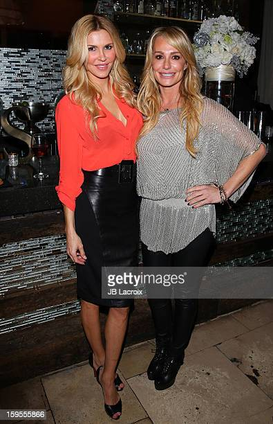 Brandi Glanville and Taylor Armstrong attend the KIIS FM And Oranum Psychics Girls Night Out at SUR Lounge on January 15 2013 in Los Angeles...