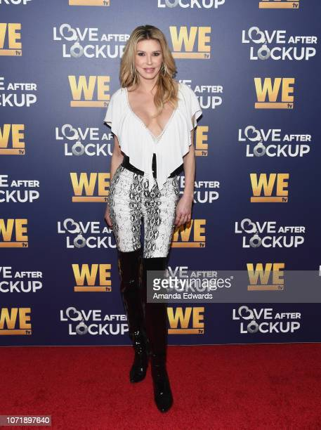 Brandi Glanville arrives at WE tv's Real Love: Relationship Reality TV's Past, Present & Future event at The Paley Center for Media on December 11,...
