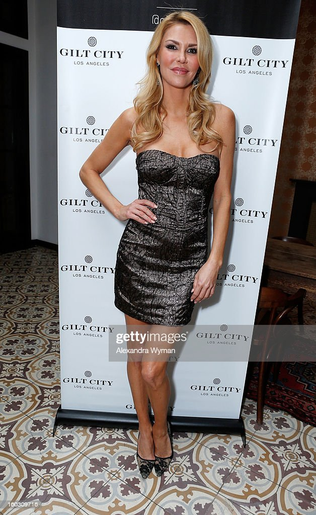 Brandi Glanville attends Gilt City Los Angeles (giltcity.com) celebrates her soon-to-be-published book 'Drinking & Tweeting and other Brandi Blunders' with a special members-only, sneak-peek book party at Palihouse in West Hollywood on Monday 28 January 2013
