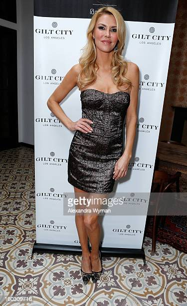 Brandi Glanville attends Gilt City Los Angeles celebrates her soontobepublished book Drinking Tweeting and other Brandi Blunders with a special...