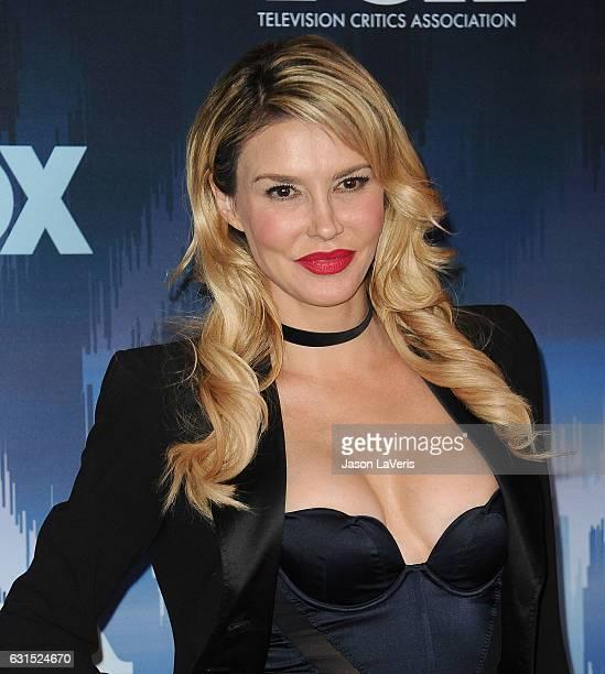 Brandi Glanville attends the 2017 FOX AllStar Party at Langham Hotel on January 11 2017 in Pasadena California