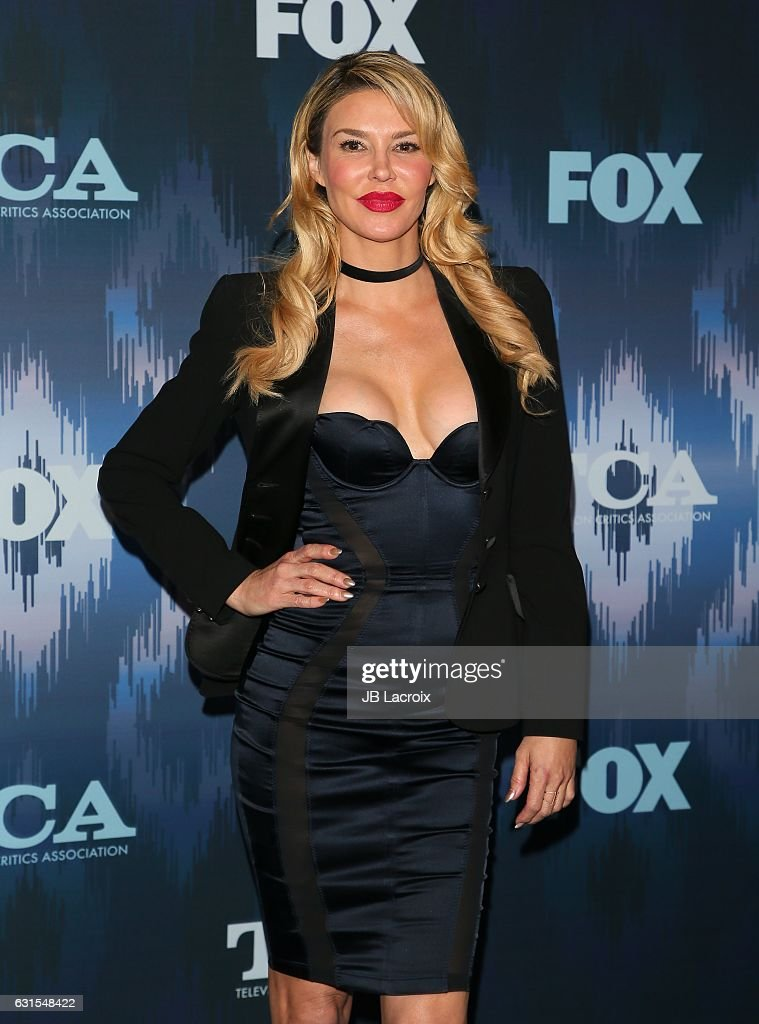 Brandi Glanville attends the 2017 Winter TCA Tour - FOX All-Star Party on January 11, 2017 in Pasadena, California.