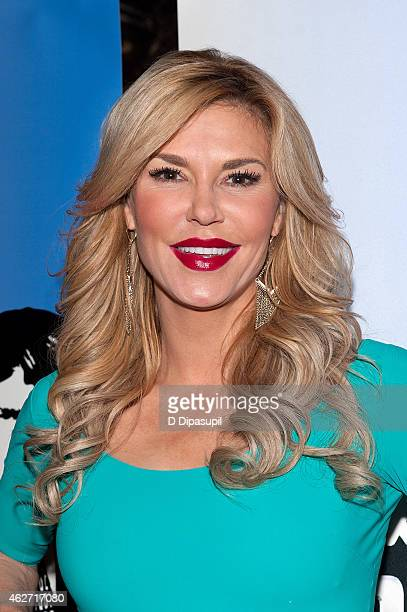Brandi Glanville attends the Celebrity Apprentice Red Carpet Event at Trump Tower on February 3 2015 in New York City