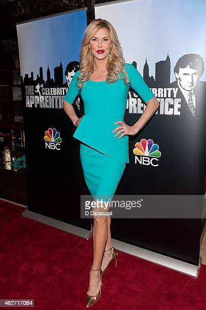 Brandi Glanville attends the 'Celebrity Apprentice' Red Carpet Event at Trump Tower on February 3 2015 in New York City
