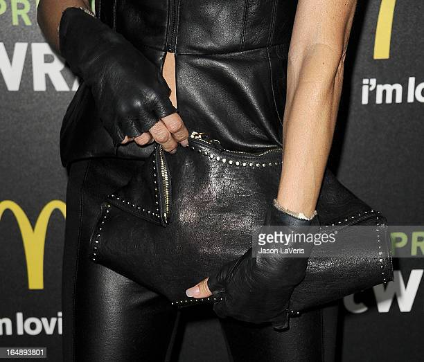 Brandi Glanville attends the McDonald's Premium McWrap launch party at Paramount Studios on March 28 2013 in Hollywood California