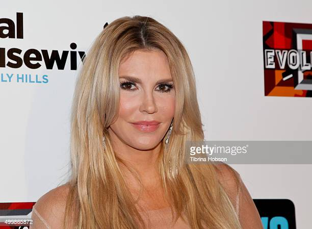 Brandi Glanville attends the premiere party for Bravo's 'The Real Housewives Of Beverly Hills' season 6 at W Hollywood on December 3 2015 in...
