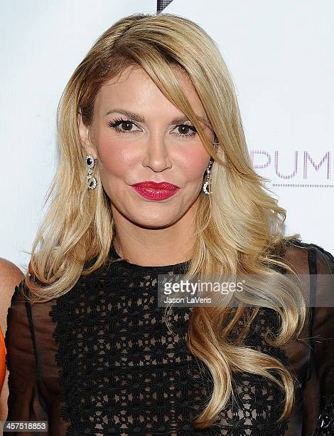 Brandi Glanville attends the The Real Housewives of Beverly Hills and Vanderpump Rules premiere party at Boulevard3 on October 23 2013 in Hollywood...
