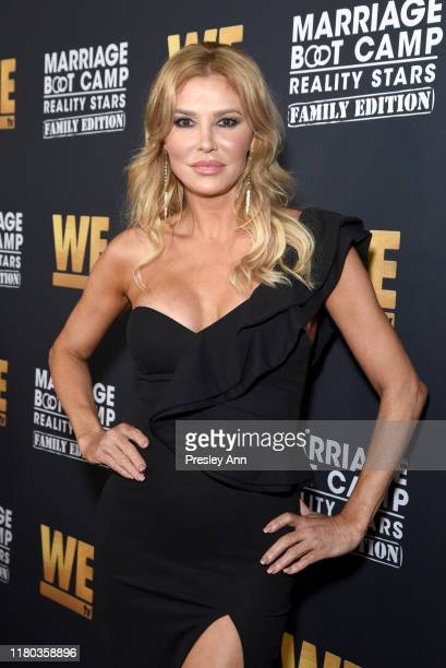 Brandi Glanville attends WE tv Celebrates The 100th Episode Of The Marriage Boot Camp Reality Stars Franchise And The Premiere Of Marriage Boot Camp...