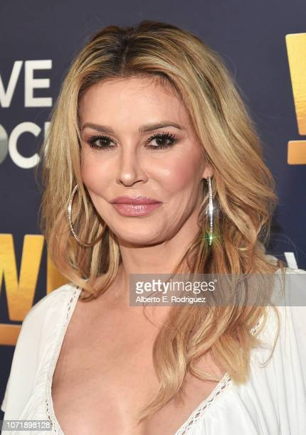 Brandi Glanville attends WE tv celebrates the return of Love After Lockup with panel Real Love Relationship Reality TV's Past Present Future at The...