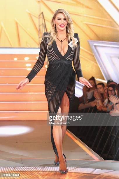 Brandi Glanville enters the Big Brother House for the Celebrity Big Brother launch at Elstree Studios on August 1 2017 in Borehamwood England