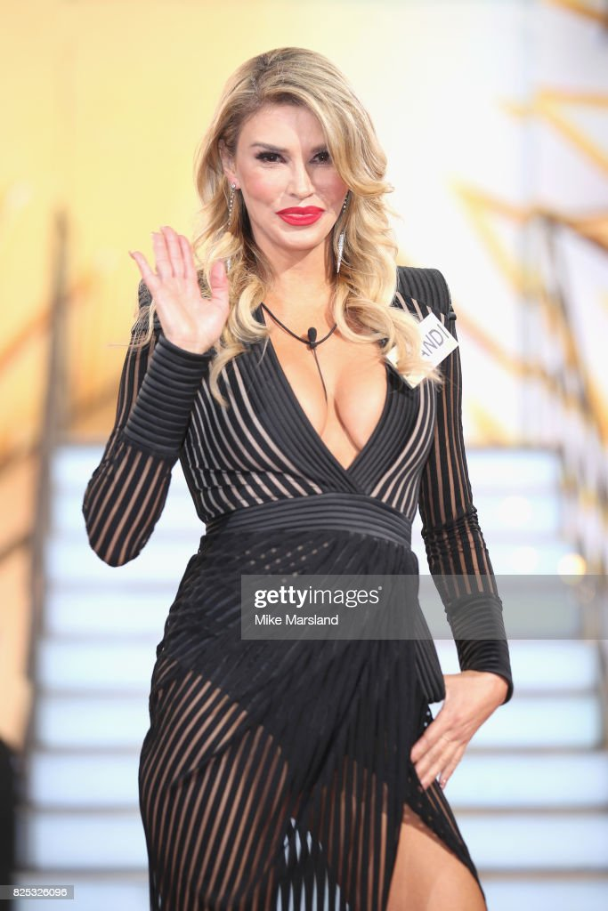 Brandi Glanville enters the Big Brother House for the Celebrity Big Brother launch at Elstree Studios on August 1, 2017 in Borehamwood, England.