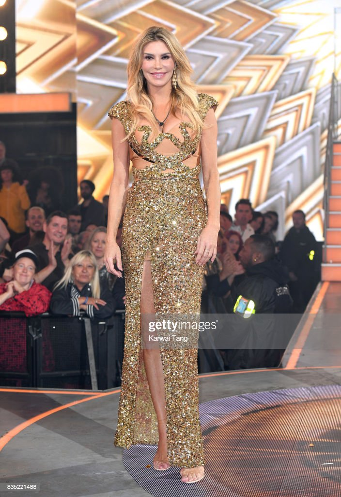 Brandi Glanville is evicted from the Celebrity Big Brother House at Elstree Studios on August 18, 2017 in Borehamwood, England.