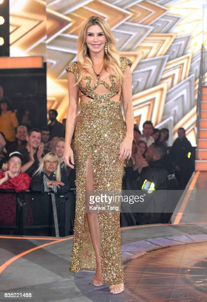 Brandi Glanville is evicted from the Celebrity Big Brother House at Elstree Studios on August 18 2017 in Borehamwood England