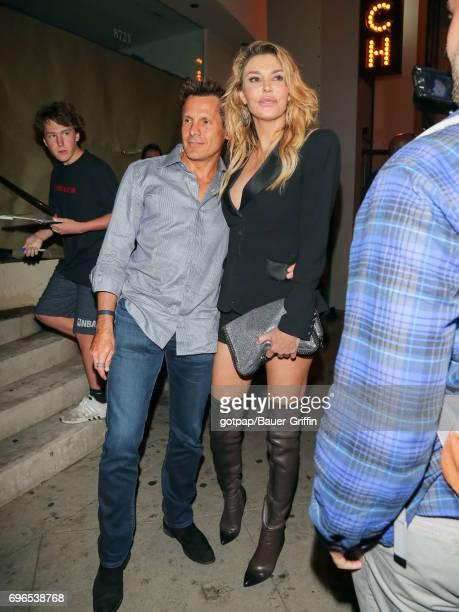 Brandi Glanville is seen on June 15 2017 in Los Angeles California