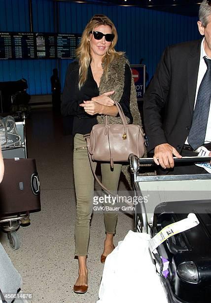 Brandi Glanville seen at LAX on October 03 2014 in Los Angeles California