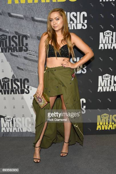 Brandi Glenn Cyrus attends the 2017 CMT Music awards at the Music City Center on June 7 2017 in Nashville Tennessee