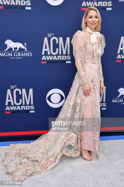 Brandi Johnson attends the 54th Academy Of Country Music Awards at MGM Grand Hotel Casino on April 07 2019 in Las Vegas Nevada