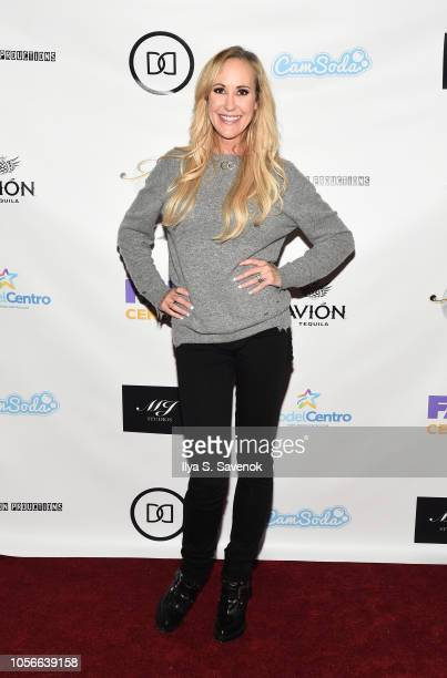 Brandi Love attends Dinner With Dani Launch Party at The Mezzanine on November 2 2018 in New York City