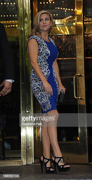 Brandi Passante is seen outside the Trump Hotel on May 8 2013 in New York City