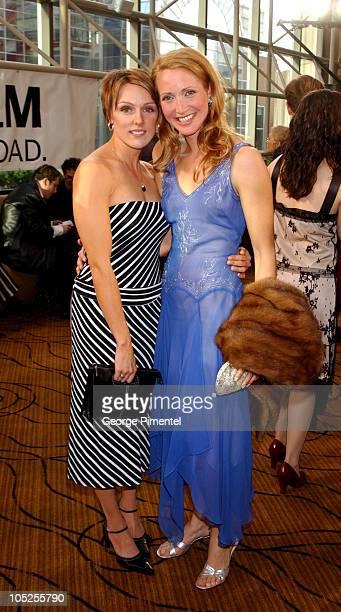 Brandi Ward and Michelle Nolden during 2003 18th Annual Gemini Awards - Pre Party at Metro Toronto Convention Centre in Toronto, Ontario, Canada.