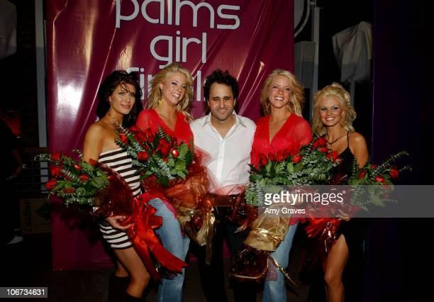 Brandi Williams 1st Runner Up Ryan Wahrenbrock cowinner of Palms Girl Finals contest George Maloof Ruth Wahrenbrock cowinner of Palms Girl Finals...