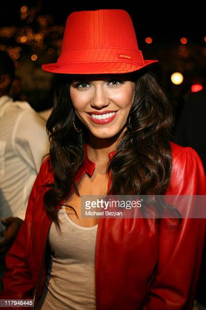 Brandi Williams during Heavyweight Fight at the Playboy Mansion Tony The Tiger Thompson vs Timor Ibragimov at Playboy Mansion in Los Angeles...