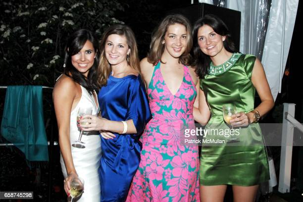 Brandie Farnam Lindsey Bunton Bridget Duffy and Kate Harrington attend the Wildlife Conservation Society's Central Park Zoo '09 Gala at the Central...