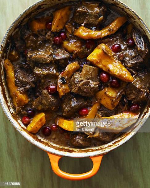 Brandied Cranberry Short Rib Stew