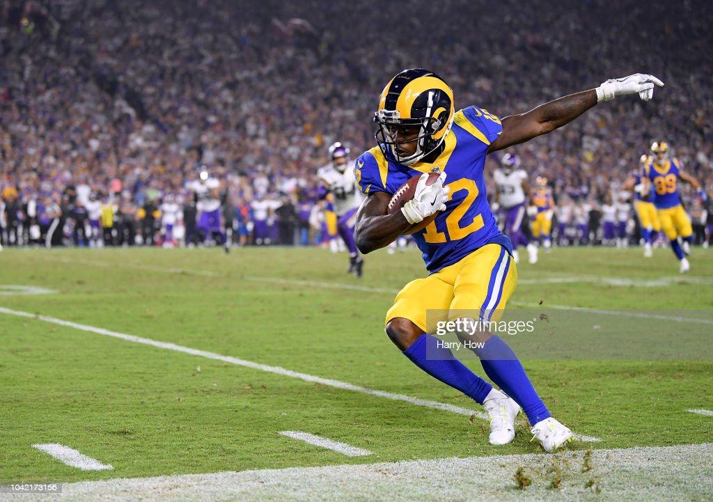 Minnesota Vikings v Los Angeles Rams : News Photo