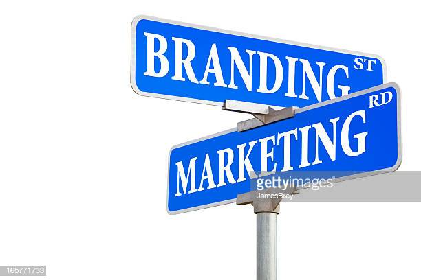 Branding and Marketing Street Sign