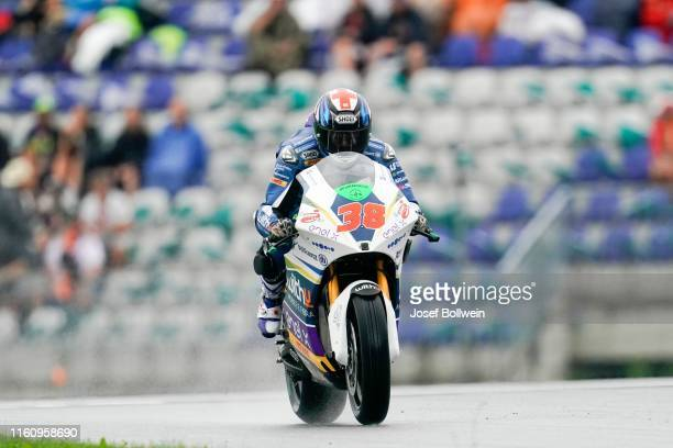 Brandley Smith of United Kingdom and One Energy Racing during the MotoGp of Austria MotorE Race at Red Bull Ring on August 11 2019 in Spielberg...