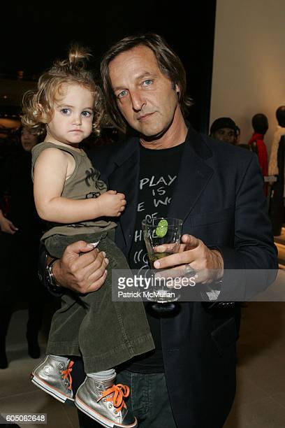 Brando Babini and Luca Babini attend Bonnie Young Children's Lifestyle Collection Launch Event at Donna Karan on September 16 2006 in New York City