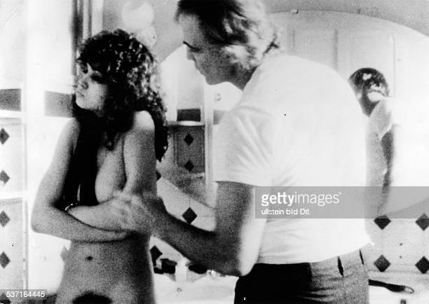 Brando Marlon Schauspieler USA mit Maria Schneider in dem Film 'Der letzte Tango in Paris' 1972