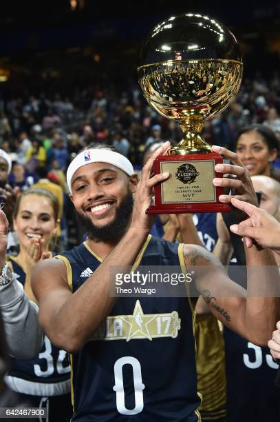 Brandon Armstrong attends the 2017 NBA AllStar Celebrity Game at MercedesBenz Superdome on February 17 2017 in New Orleans Louisiana