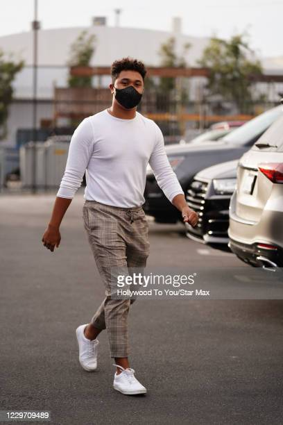 Brandon Armstrong is seen on November 20 2020 in Los Angeles California