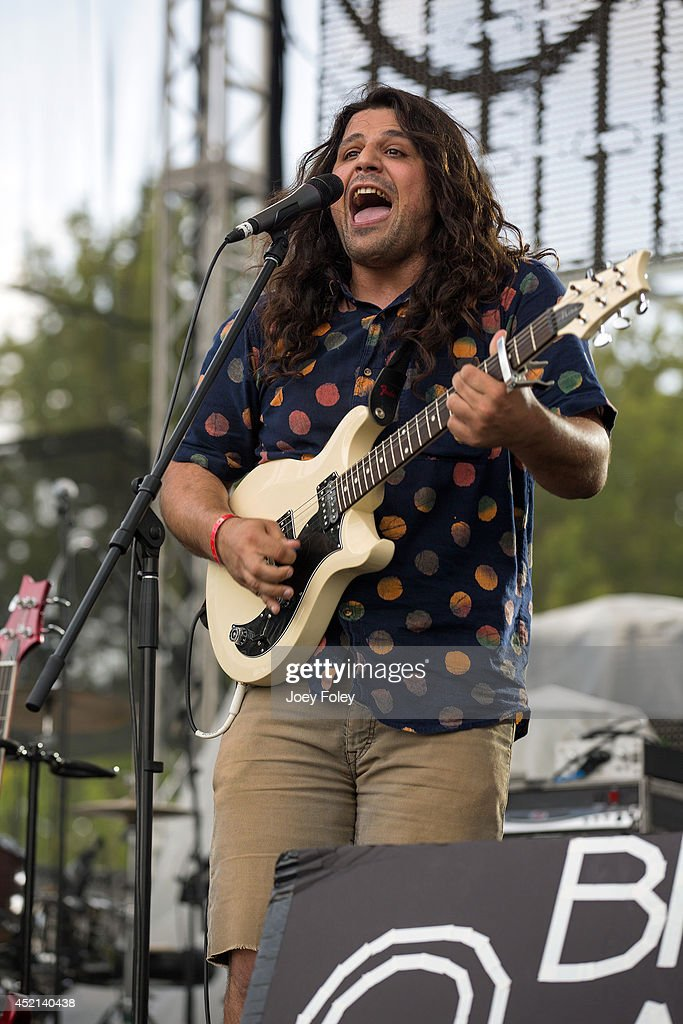 Brandon Asraf of Brick and Mortar performs live onstage during the 2014 Bunbury Music Festival on July 13, 2014 in Cincinnati, Ohio.