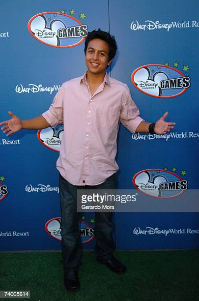 Brandon Baker star of 'Johnny Kapahala Back on Board' attends the Disney Channel Games 2007 AllStar party at the Epcot Adventure Pavilion in Epcot...