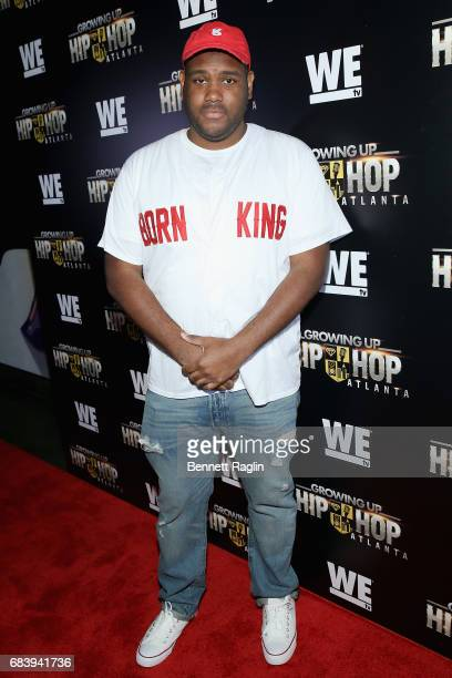 Brandon Barnes attends the WE tv's Growing Up Hip Hop Atlanta premiere screening event on May 16, 2017 in New York City.